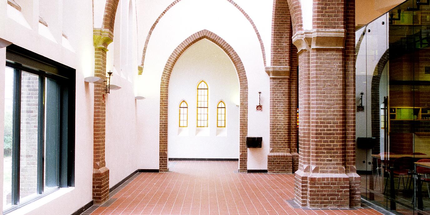 Ontwerp Albertuskerk van Vissers architecten