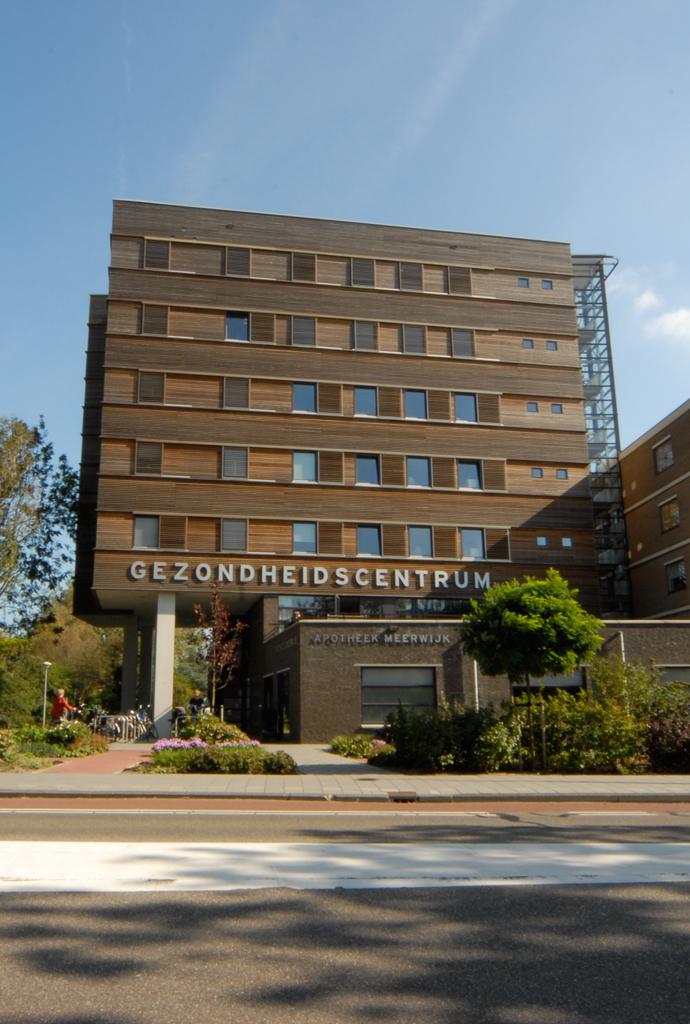 Gezondheidscentrum Haarlem door Vissers architecten