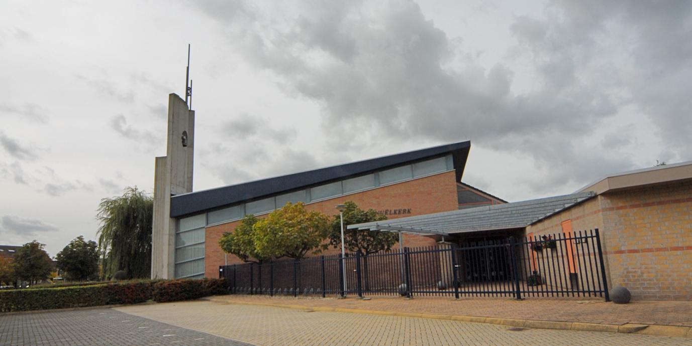 Ontwerp kerk Barendrecht door Vissers architecten