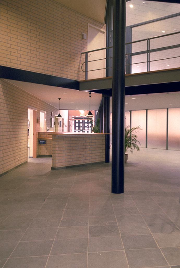 Interieur van de kerk Barendrecht door Vissers architecten